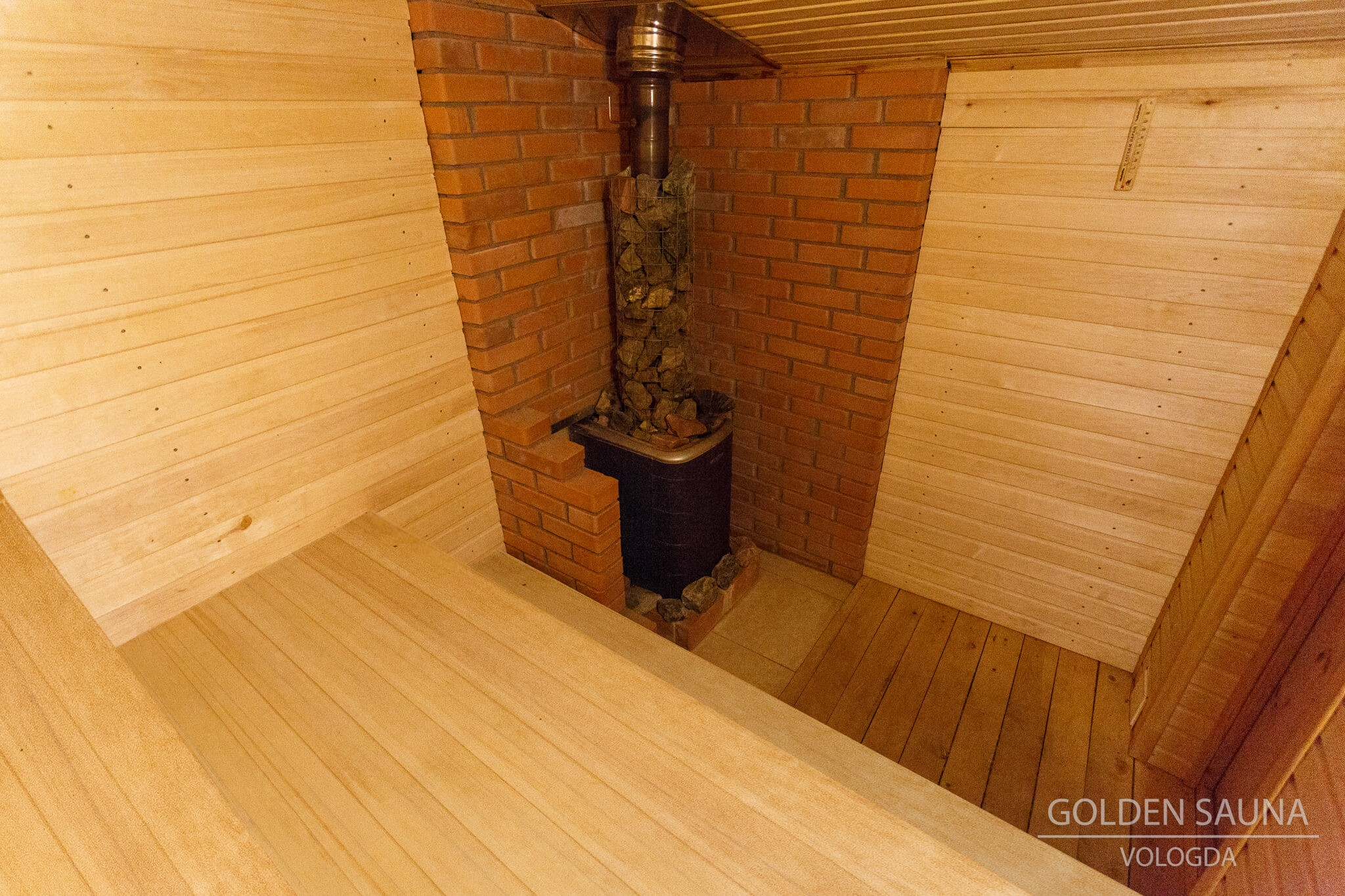 """Golden Sauna"" - №1"