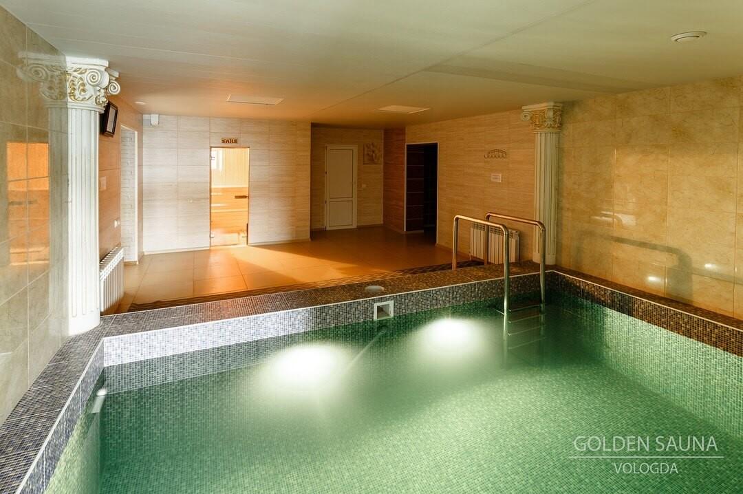 """Golden Sauna"" - №2"