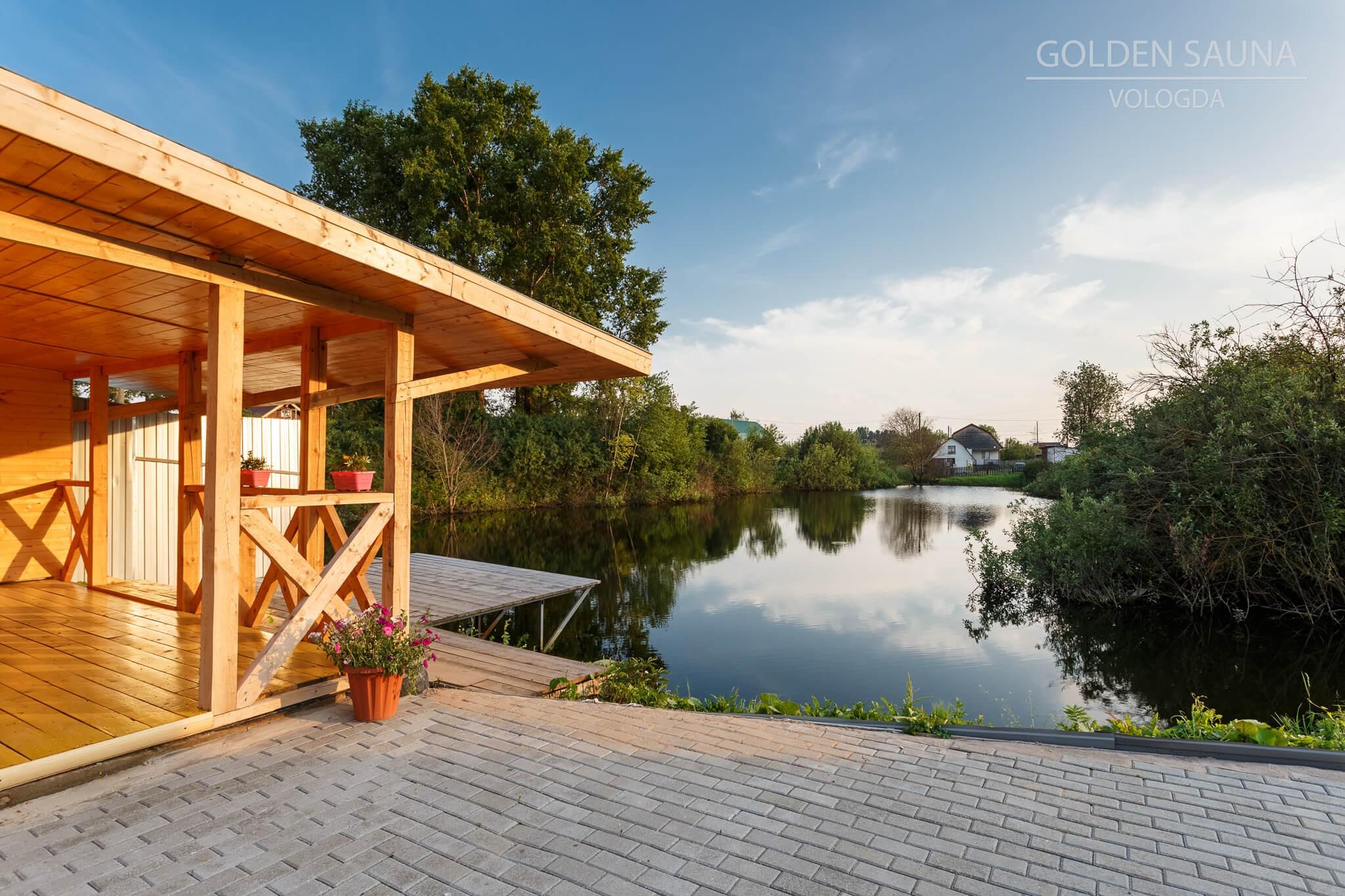 """Golden Sauna"" - №3"