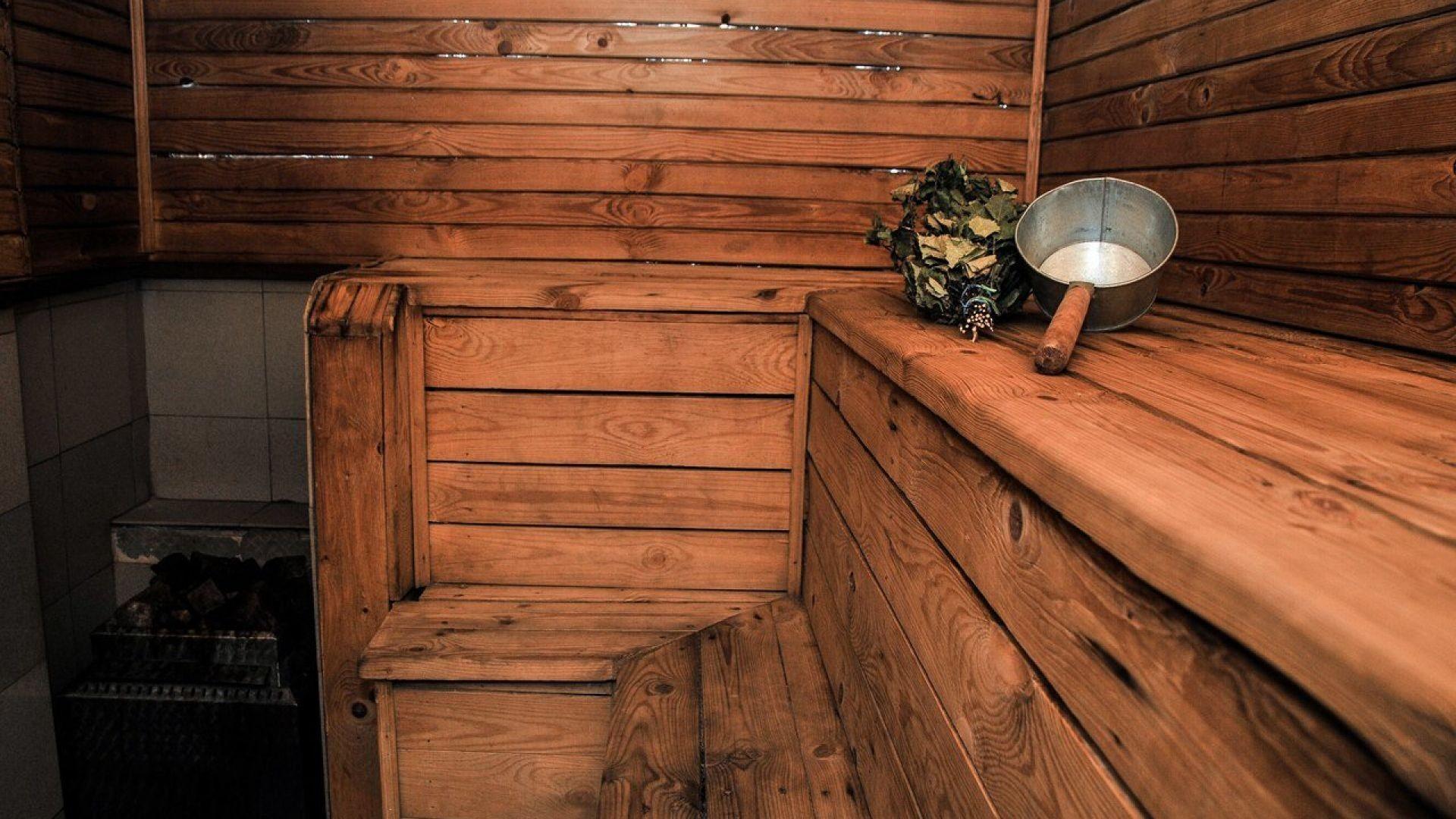 Водниковские бани Зал финской парной № 2 малый- №1
